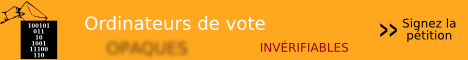 Qui contrle les ordinateurs de vote ?